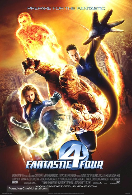 Fantastic Four - Movie Poster