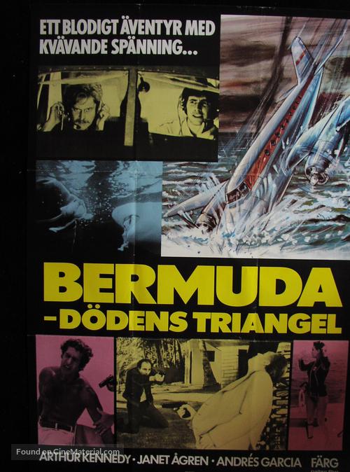 Bermude: la fossa maledetta - Swedish Movie Poster