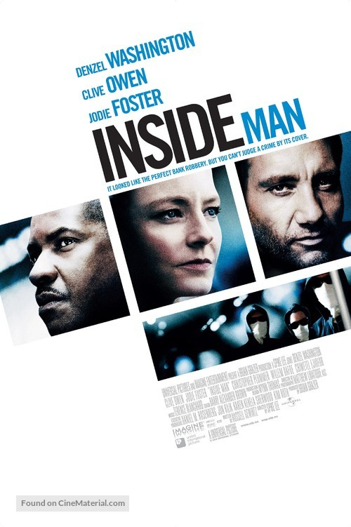 Inside Man - Norwegian Movie Poster