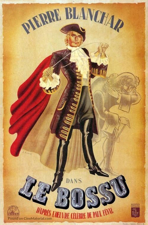 Bossu, Le - French Movie Poster
