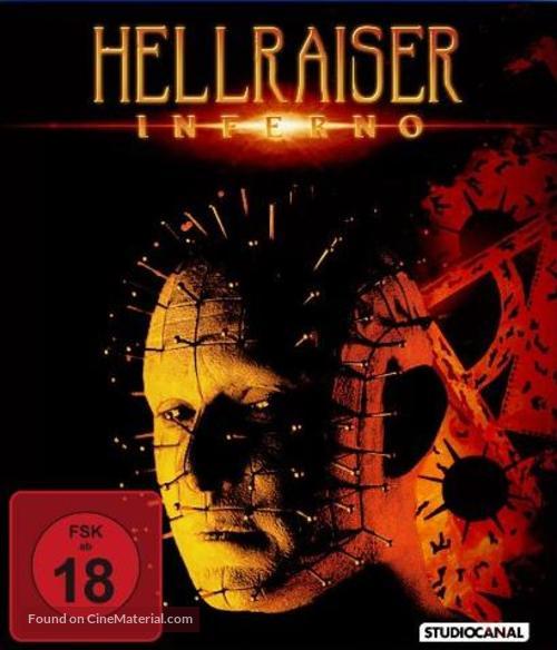 Hellraiser: Inferno - German Movie Cover