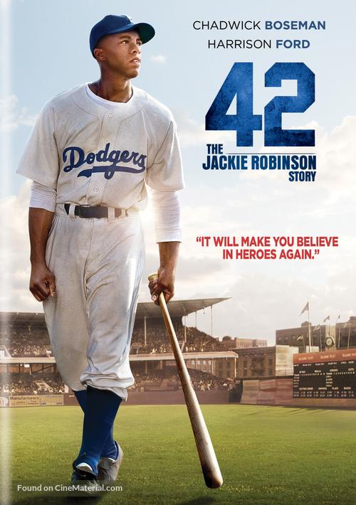 42 - DVD movie cover