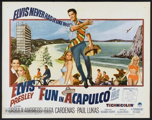 Fun in Acapulco - Movie Poster