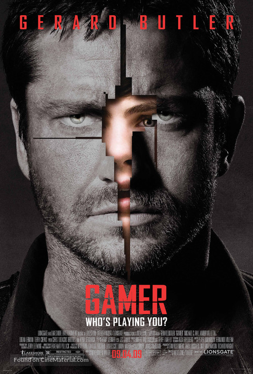 Gamer - Movie Poster