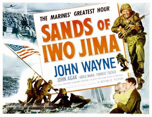 Sands of Iwo Jima - Movie Poster