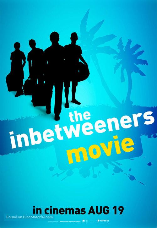 The Inbetweeners Movie - British Movie Poster