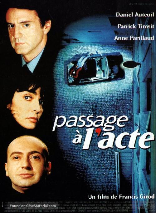 Passage à l'acte - French Movie Poster