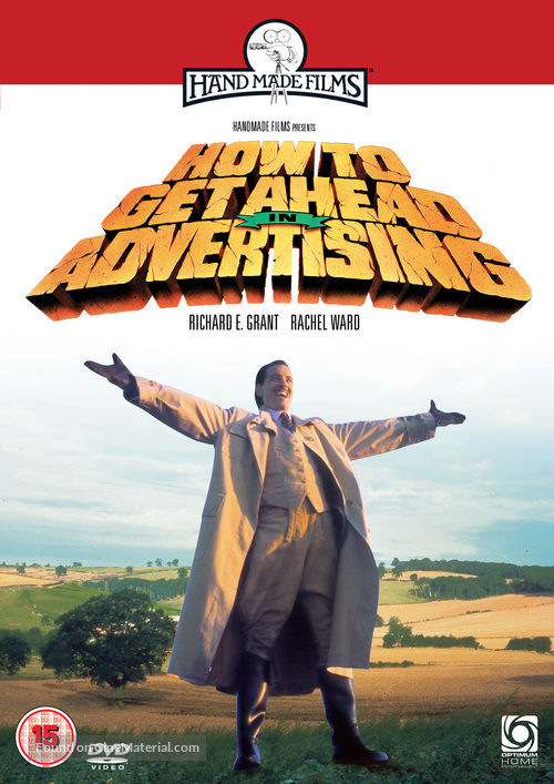 How to Get Ahead in Advertising - British DVD movie cover