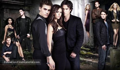 """The Vampire Diaries"" - Key art"