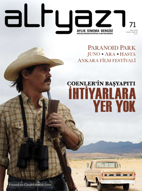 No Country for Old Men - Turkish poster