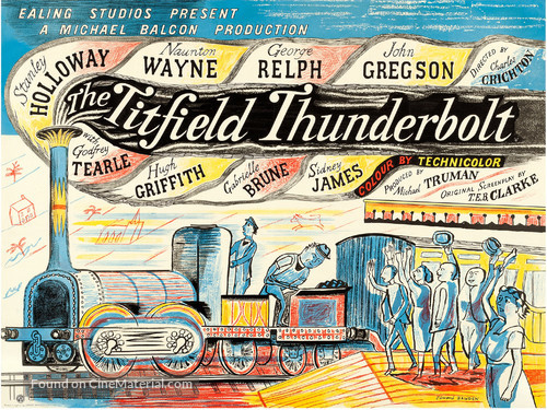 The Titfield Thunderbolt - British Movie Poster