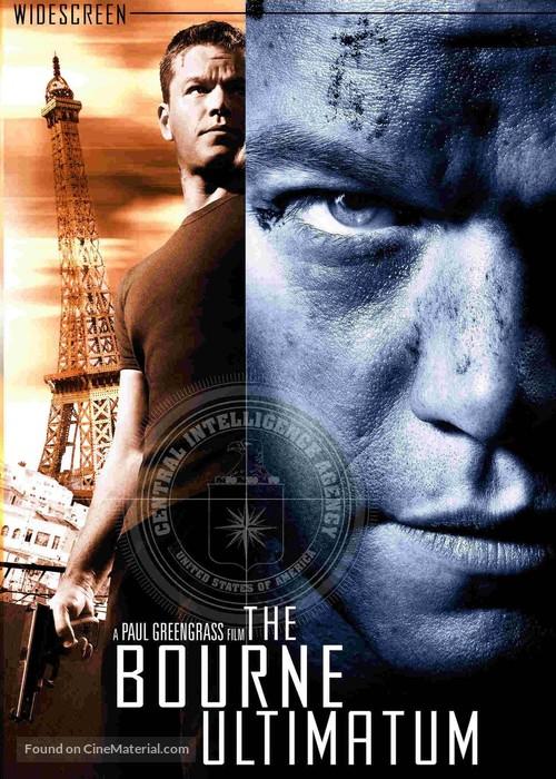 The Bourne Ultimatum 2007 Dvd Movie Cover