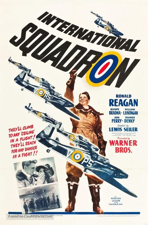 International Squadron - Movie Poster