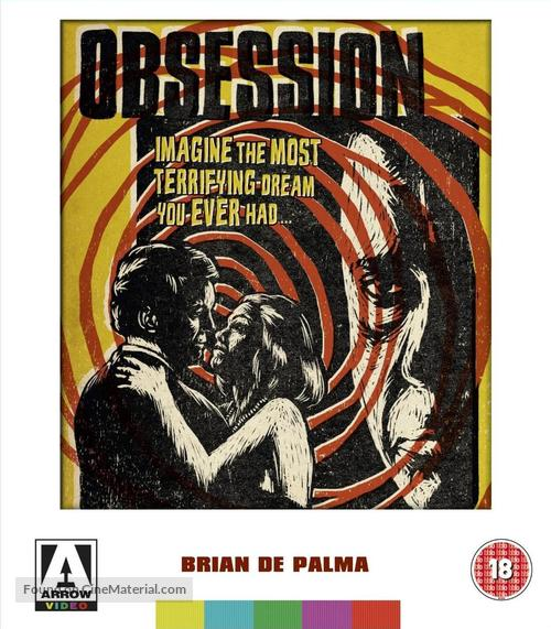 Obsession - British Blu-Ray movie cover