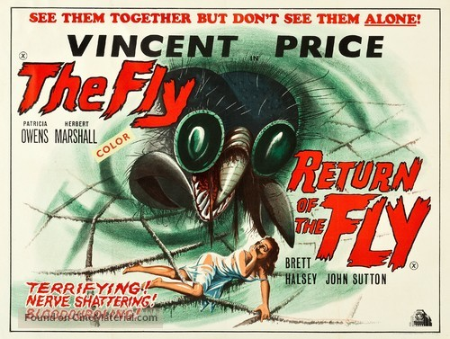 The Fly - British Combo movie poster