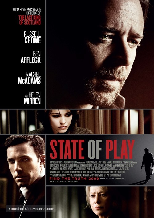 State of Play - Swedish Movie Poster