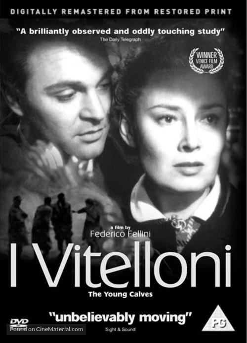 I vitelloni - British DVD movie cover