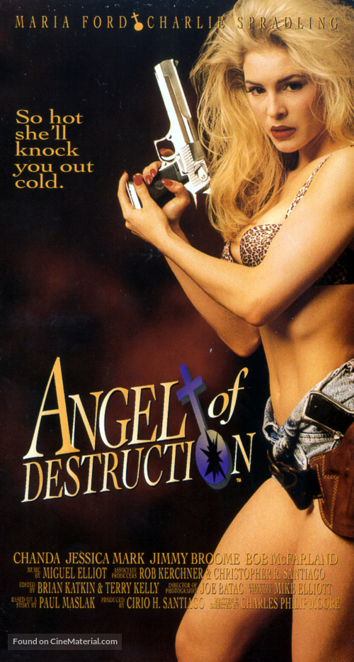 Angel of Destruction - VHS movie cover