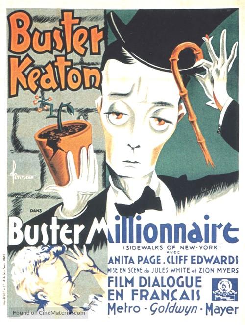 Sidewalks of New York - French Movie Poster