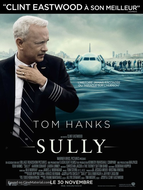 Sully - French Movie Poster
