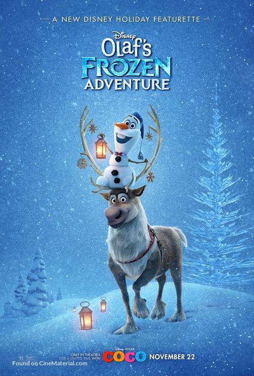 Olaf's Frozen Adventure - Movie Poster