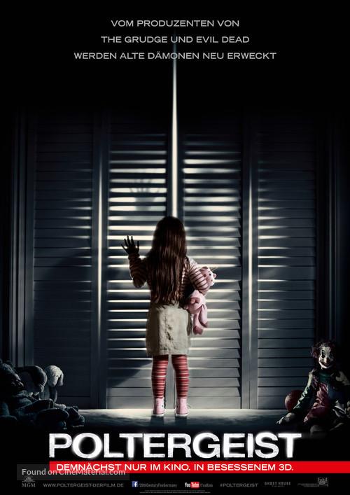 Poltergeist - German Movie Poster