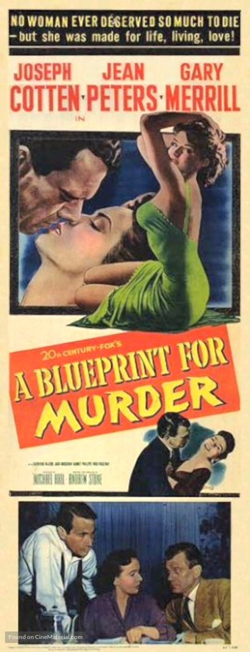 A Blueprint for Murder - Movie Poster