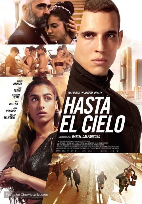Hasta el cielo - Spanish Movie Poster