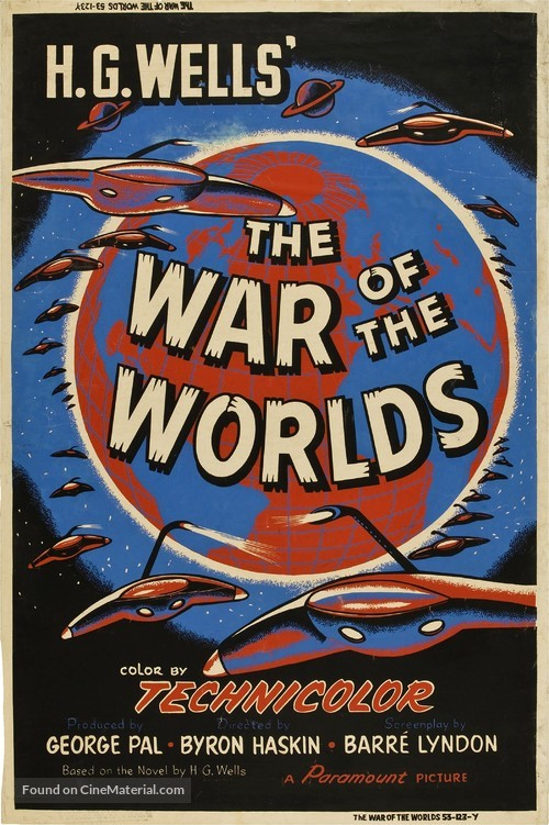 The War of the Worlds - Movie Poster