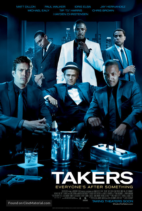 Takers - Movie Poster