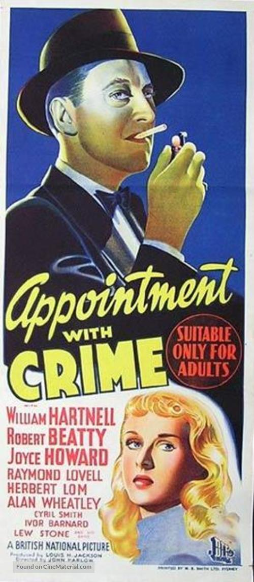 Appointment with Crime - Australian Movie Poster