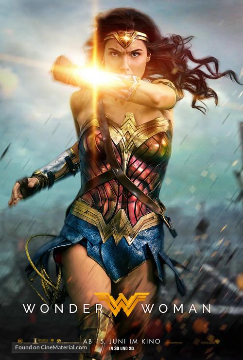 Wonder Woman - German Movie Poster