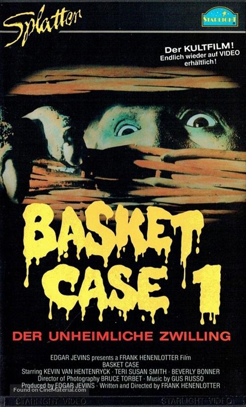 Basket Case - German VHS movie cover