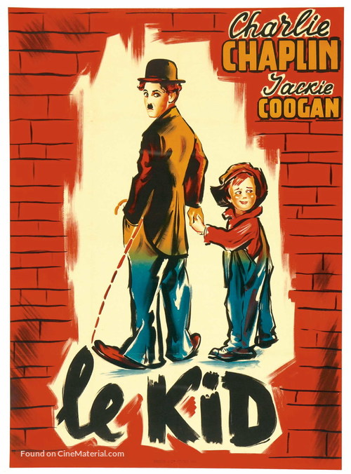 The Kid - French Movie Poster