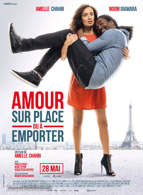 Amour sur place ou à emporter - French Theatrical movie poster