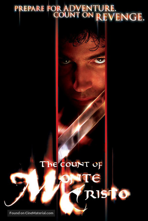 The Count of Monte Cristo - DVD movie cover