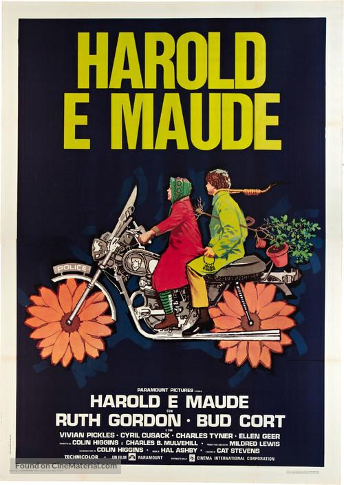 Harold and Maude - Italian Movie Poster