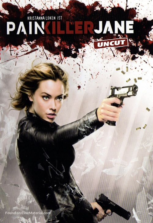 """Painkiller Jane"" - Movie Cover"