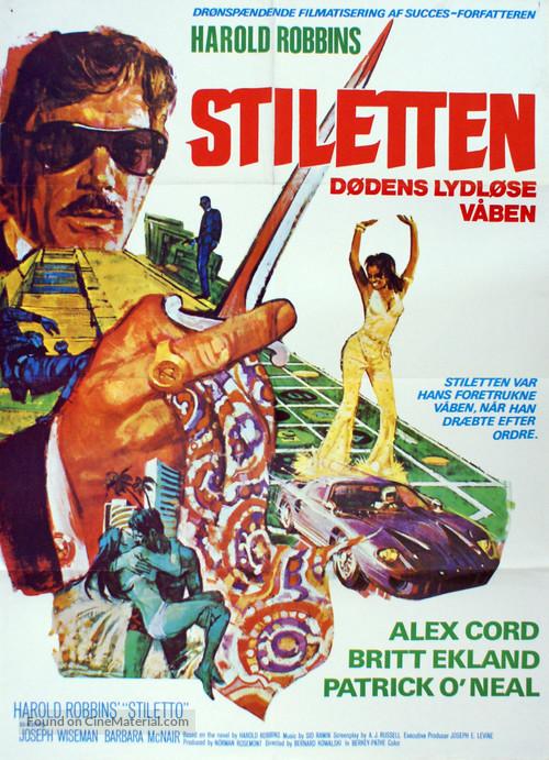 Stiletto - Danish Movie Poster