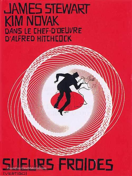 Vertigo - French Movie Poster