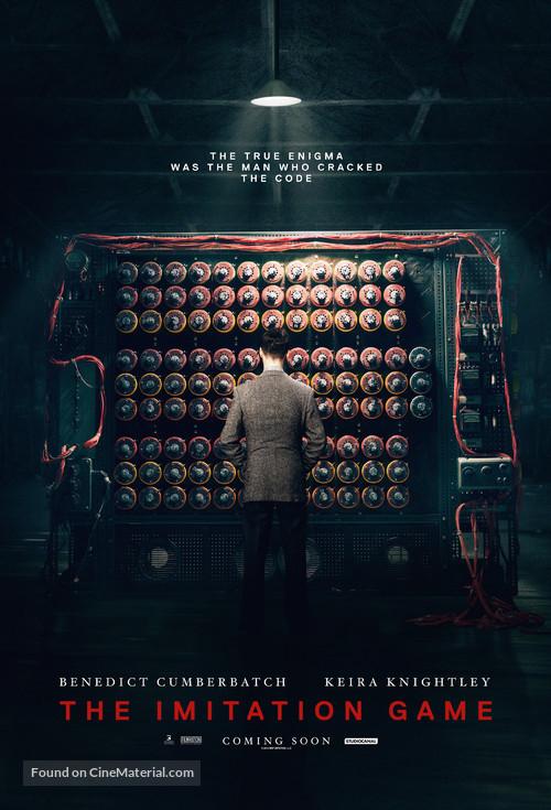 The Imitation Game - British Movie Poster