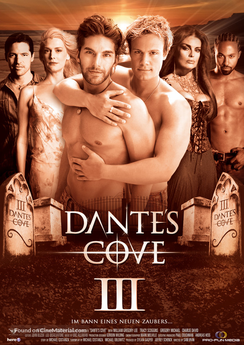 """Dante's Cove"" - German DVD movie cover"