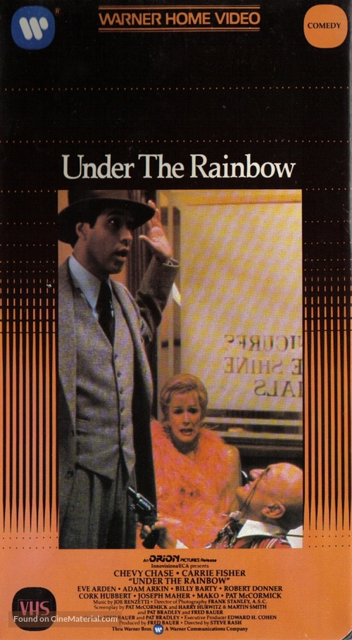 Under the Rainbow - VHS cover