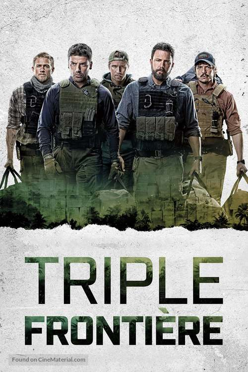 Triple Frontier - French Movie Cover