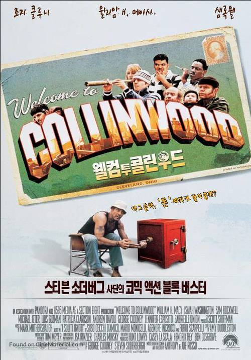 Welcome To Collinwood - South Korean poster