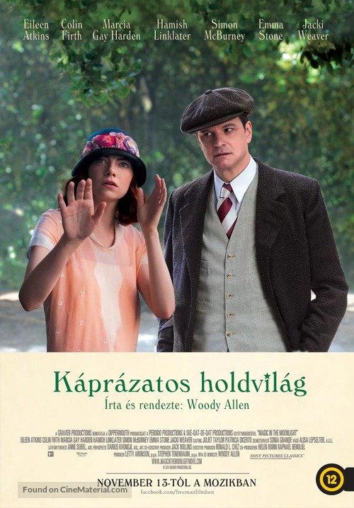 Magic in the Moonlight - Hungarian Movie Poster