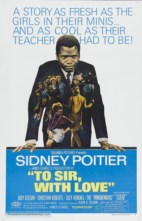 To Sir, with Love - Movie Poster