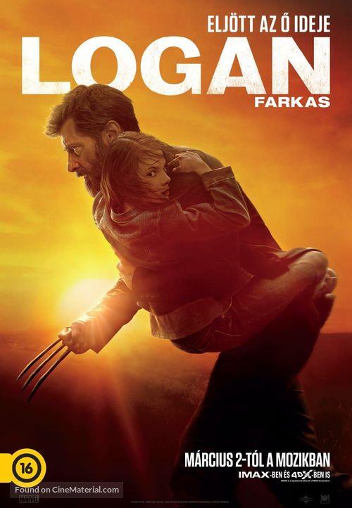 Logan - Hungarian Movie Poster