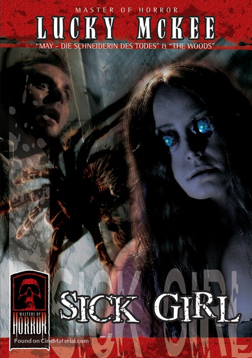 """""""Masters of Horror"""" Sick Girl - German DVD movie cover"""