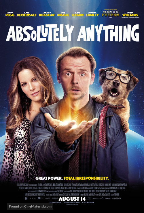Absolutely Anything - British Movie Poster